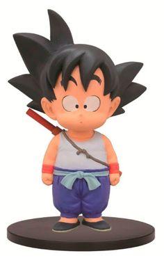 Estatua Goku Kid, 14 cm. Dragon Ball. Banpresto.  Directo desde Japón un nuevo surtido de figuras basadas en el manga original. En este caso tenemos a Goku kid y la otro figura de esta serie es Krillin.