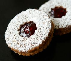 15 Delicious Christmas Cookie Recipe Christmas Celebration All about Christmas Easy Delicious Recipes, Delicious Desserts, Linzer Cookies, Linzer Tart, Bar Cookies, Yummy Cookies, Christmas Cookies, Christmas Ideas, Xmas