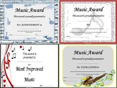 Piano award certificate pianos certificate and piano lessons music award certificates editable click through to see all the designs or yadclub Choice Image