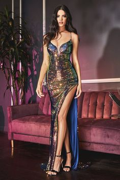 Cinderella Dresses, Mermaid Prom Dresses, Dance Dresses, Golden Dress, Sequin Gown, Formal Prom, Formal Gowns, Metallic Dress, Collar Dress