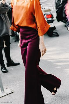 My first thought :  Velma menswear style