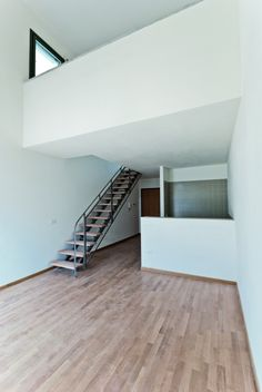 Image 22 of 31 from gallery of Affordable Housing in Prato / studiostudio architetti urbanisti. Photograph by Margherita Stacchi Low Cost Housing, Young Family, Affordable Housing, Family Pictures, Stairs, Urban, Interior Design, Architecture, Gallery
