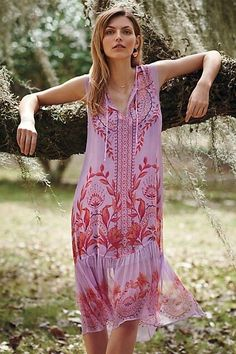 7ea4811bc01 Anthropologie Wisteria Silk Dress by Floreat New Sz. 4 - Silk Dress   silkdress
