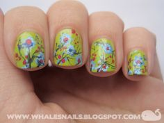 #whalesnails #flowers #garden #nails