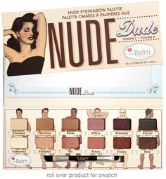 This would be an awesome gift for a friend. | The Balm's Nude Dude palette