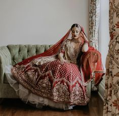 Check out this list of some of our favorite 2019 bridal apparel and jewelry designers for South Asian weddings. Indian Wedding Couple Photography, Bridal Photography, Wedding Saree Blouse, Bridal Lehenga, Desi, Indian Bridal Outfits, Punjabi Bride, Bridal Poses, Red Lehenga