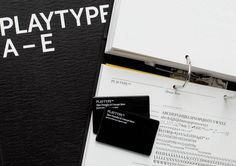 Playtype™ Concept Store — e Types