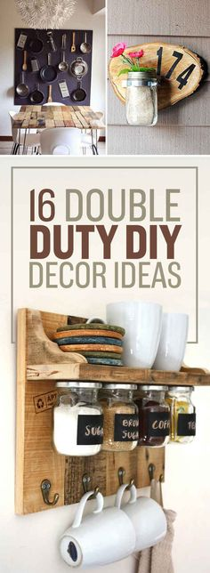 16 Totally Doable DIY Projects That All Solve More Than One Problem