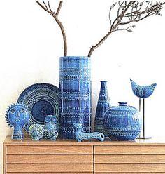 Bitossi Rimini Blue