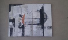 Abstract met roodkoper