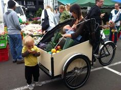 christiania bike - Google Search Christiania Bike, Bike Pic, Cargo Bike, 3rd Wheel, Baby Strollers, Bicycles, Wheels, Google Search, Design
