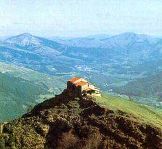Monte bocinero de Bizkaia, monte Kolitza. Balmaseda