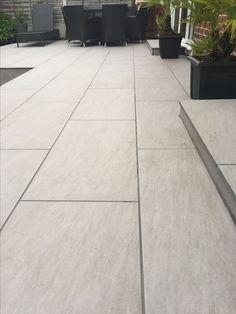 Outdoor porcelain tiles - All About Garden Slabs, Garden Tiles, Patio Slabs, Garden Paving, Porch Tile, Patio Tiles, Patio Flooring, Backyard Garden Design, Patio Design
