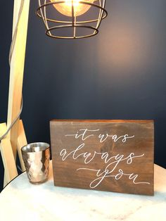 Your place to buy and sell all things handmade Walnut Timber, Reclaimed Timber, Wood Anniversary Gift, Nail Holes, Always You, White Paints, Wedding Signs, Valentine Day Gifts, Wood Signs