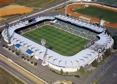 El estadio de la UD Salamanca fue inaugurado en 1970 y el primer partido que acogió fue un amistoso entre los locales y el Sporting de Portugal, que acabó con un 0-0.