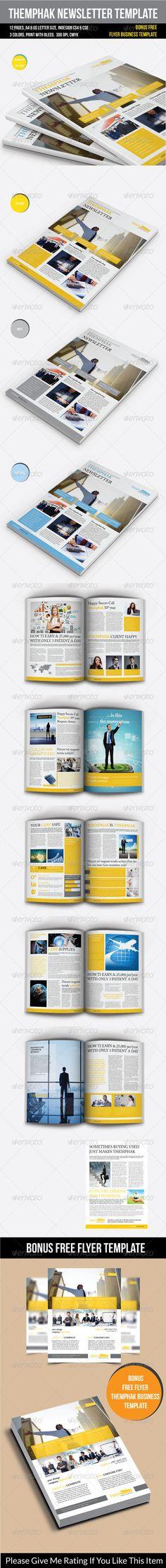 Real Estate - Newsletter Template Newsletter Design Pinterest - newsletter templates free word
