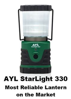 """Streamlight The Seige Lantern LED Lantern is 7 1//4/"""" tall Durable tan and black p"""