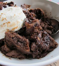HOT CHOCOLATE BREAD PUDDING = Ingredients 2T unsalted butter 6 eggs 6T ...