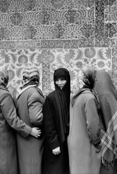 Henri Cartier-Bresson, TURKEY. Istanbul. 1964. Friday at the Eyüp Sultan Mosque.