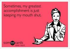 I said sometimes, not that it happens often :-)