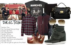 """""""One Direction (Girl's) Outfit"""" by monique-563 on Polyvore"""