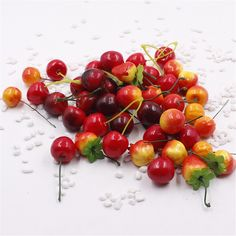 5pcs Artificial Fruits and Vegetables Flowers For Wedding Decoration Simulation Wreath Fake Flowers