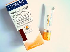 Alenka's beauty: Lumene. Dright Now Vitamin C Eye Roll-On. Anti-Puf...