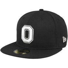 New Era Ohio State Buckeyes Victory 59FIFTY Fitted Flatbill Hat - Black- - Fanatics.com