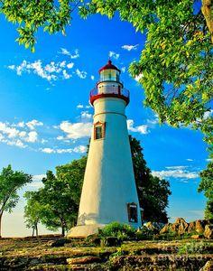 Marblehead Lighthouse - Ohio  www.liberatingdivineconsciousness.com