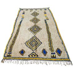 Moroccan Azilal Rug   From a unique collection of antique and modern moroccan and north african rugs at https://www.1stdibs.com/furniture/rugs-carpets/moroccan-rugs/