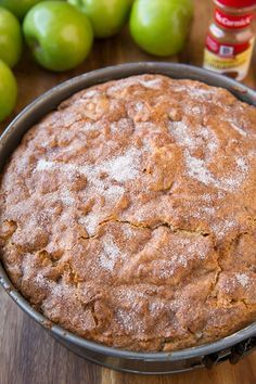 Irish Apple Cake with Custard Sauce - Cooking Classy Irish Desserts, Irish Recipes, Apple Recipes, Sweet Recipes, Irish Meals, Scottish Recipes, Irish Cake, Irish Apple Cake, Irish Bread