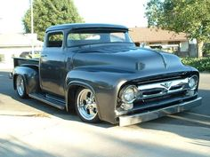 1956 Ford F100 Front Side View Photo 1