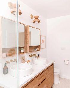 Bathroom decor for your master bathroom remodel. Discover bathroom organization, bathroom decor tips, bathroom tile ideas, master bathroom paint colors, and more. Bathroom Inspo, Bathroom Inspiration, Bathroom Ideas, Bathroom Organization, Bathroom Cleaning, Boho Bathroom, Bathroom Vanities, Budget Bathroom, Bathroom Designs