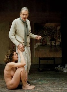 Lucian Freud.  Photographed by John Riddy, 2005.