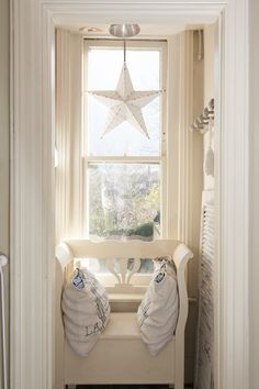 Treasure Trove - This hallway hideaway is the perfect place to snuggle up in secret with star ornament and bench seat
