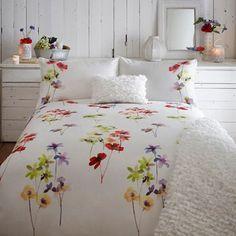 RJR.John Rocha White floral 'Joy' bed linen-   Debenhams