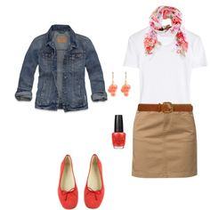"""Summer work outfit"" by meg-card on Polyvore"