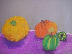 Fall Still Life...Chalk