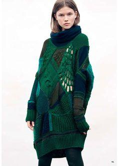 Clare Tough sweater.