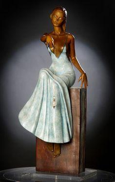Peintre, Sculpteur Née en 1952, à Meknès, Maroc Vit et travaille en France La démarche de Marie-Paule DEVILLE CHABROLLE est une av...