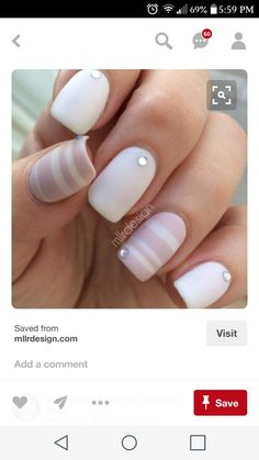 Cute and simple nails