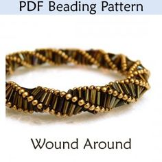 Triple Helix Stitch Beading Pattern