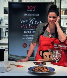 #WeLoveWomen2015: H συνταγή της Εβίτας για τα μπισκότα με ταχίνι και πορτοκάλι - JoyTV Golden Hall