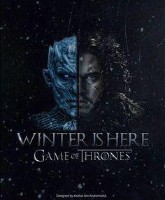 Game Of Thrones season Winter is coming, Jon Snow and White walker Jon Snow, Valar Dohaeris, Valar Morghulis, Khal Drogo, Kit Harington, Winter Is Here, Winter Is Coming, Snow Coming, Summer Winter
