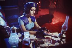 Character: Jill Valentine / From: Capcom's 'Resident Evil' / Cosplayer: Natasha Narga Kochetkova (aka Natasha Firsakova, aka Narga and Aoki cosplay, aka Narga-Lifestream) / Photo: JustMoolti (Vasiliy Morozov) Jill Valentine, Valentine Resident Evil, Resident Evil Girl, Virtual Boy, Video Game Cosplay, Anime Conventions, Kawaii Cosplay, Halloween Party Costumes, Best Cosplay