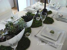 Nuit des anges décoratrice de mariage décoration de table nature zen 013