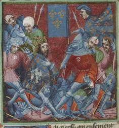 BNF Français 2608 Les grandes Chroniques de France