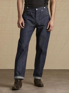 LEVI'S VINTAGE CLOTHING-501XX 1915モデル-リジッド/CONE MILLS Collaboration