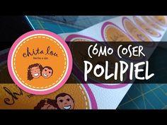 Cómo coser polipiel - YouTube