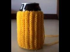 Crochet Soda Can/Coffee Cup Cozy Tutorial